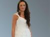 Romantische weißen Hochzeitskleid..