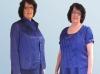 Blau Hochzeitsanzug